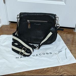 Marc Jacobs Gotham Black Saddle Crossbody Purse